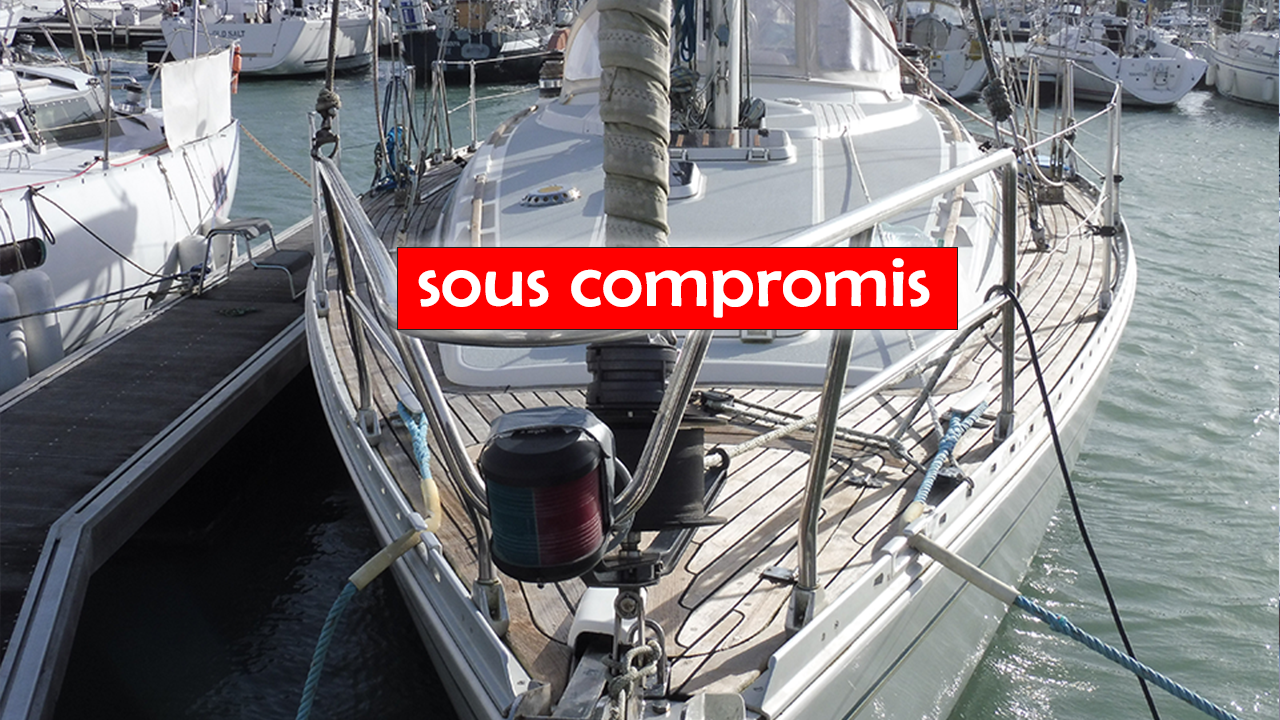 MOODY 38 – EN AVANT – sous compromis